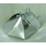 Geschenkbox in Silber