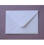 Briefumschlag weiß 12,5 x 17,5 cm