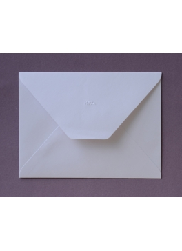Briefumschlag weiß 14 x 19 cm