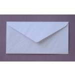 Länglicher Briefumschlag weiß 11 x 21,6 cm